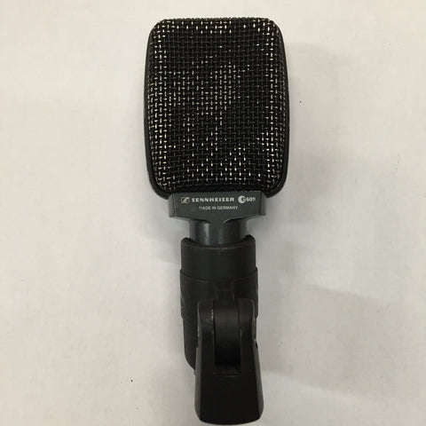 Used Sennheiser e609 Dynamic Supercardioid Instrument/Guitar Microphone for Sale. We Sell Professional Audio Equipment. Audio Systems, Amplifiers, Consoles, Mixers, Electronics, Entertainment, Live Sound