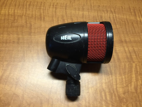 Used Heil PR48 Large Diameter Diaphram,  Kick Drum Dynamic Microphone for Sale. We Sell Professional Audio Equipment. Audio Systems, Amplifiers, Consoles, Mixers, Electronics, Entertainment, Live Sound