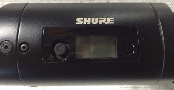 Shure UR3-G1 Plug-on Wireless Microphone Transmitter (470-530 MHz) w/ Case