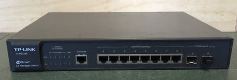 Used TP-Link JetStream L2 Managed Switch, TL-SG3210For Sale. We Sell Professional Audio Equipment. Audio Systems, Amplifiers, Consoles, Mixers, Electronics, Entertainment, Live Sound