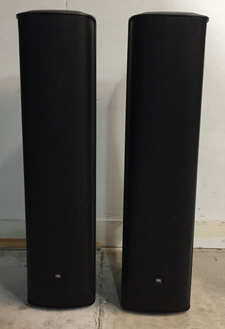 JBL CBT 1000 Column Line Array Speakers - Black, Sold as a pair