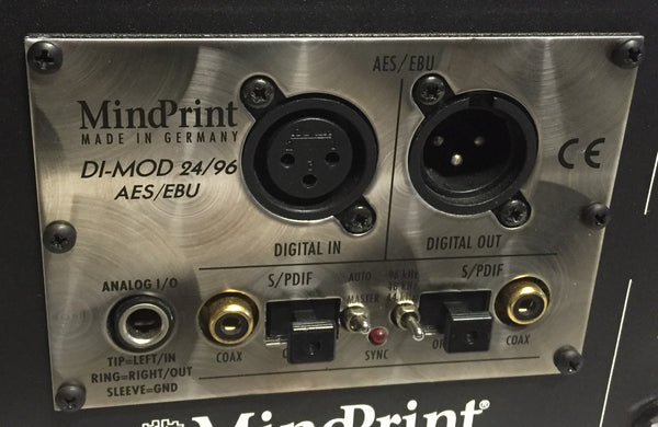 Mindprint DTC (Dual Tube Channel) Stereo Tube Mic Preamp