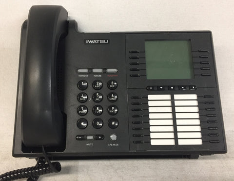IWATSU Enhanced Digital Key Telephones, Model IX-5810, Lot of Eight (8)