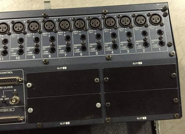 Yamaha 02R-96 Mixing Console & Touring Case