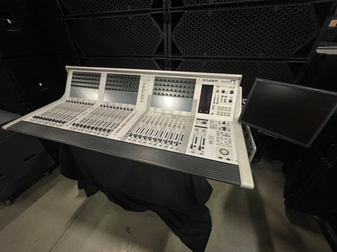 Studer Vista 5 SR Digital Mixing System , Includes Tour Case **PRICED TO SELL**
