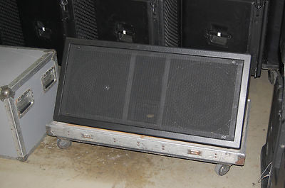 Clair Brothers LP1215 Wedge Stage Monitor and Touring Case
