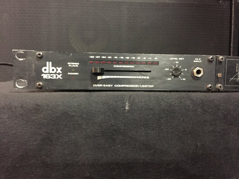 Used dbx 163X Over Easy Compressor/Limiter For Sale