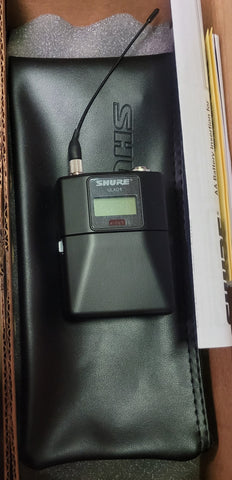 Shure ULXD1 Digital Bodypack Transmitter J50A Frequency Range