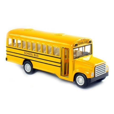 #1 Unibos Baby Playtime Bus School Bus American Style Feature Includes Open Door Stop Sign