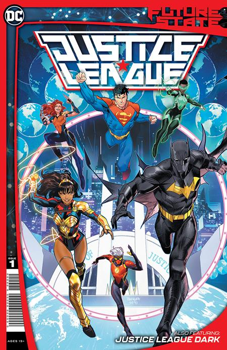 FUTURE STATE JUSTICE LEAGUE #1 (OF 2) CVR A DAN MORA - PRESALE - 1/12/2021