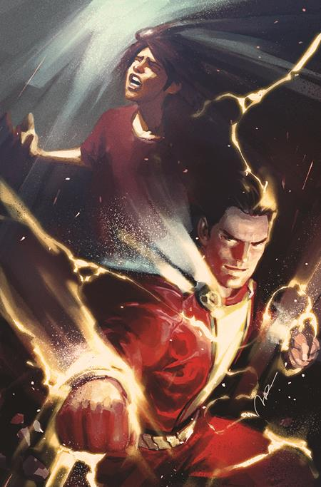 FUTURE STATE SHAZAM #1 (OF 2) CVR B GERALD PAREL CARD STOCK VAR - PRESALE - 1/19/2021