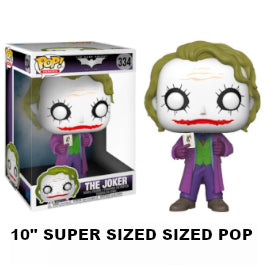 Funko Pop! The Joker (10'' SUPER SIZED POP)