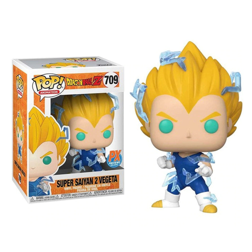 Funko Pop! Super Saiyan 2 Vegeta PX Exclusive