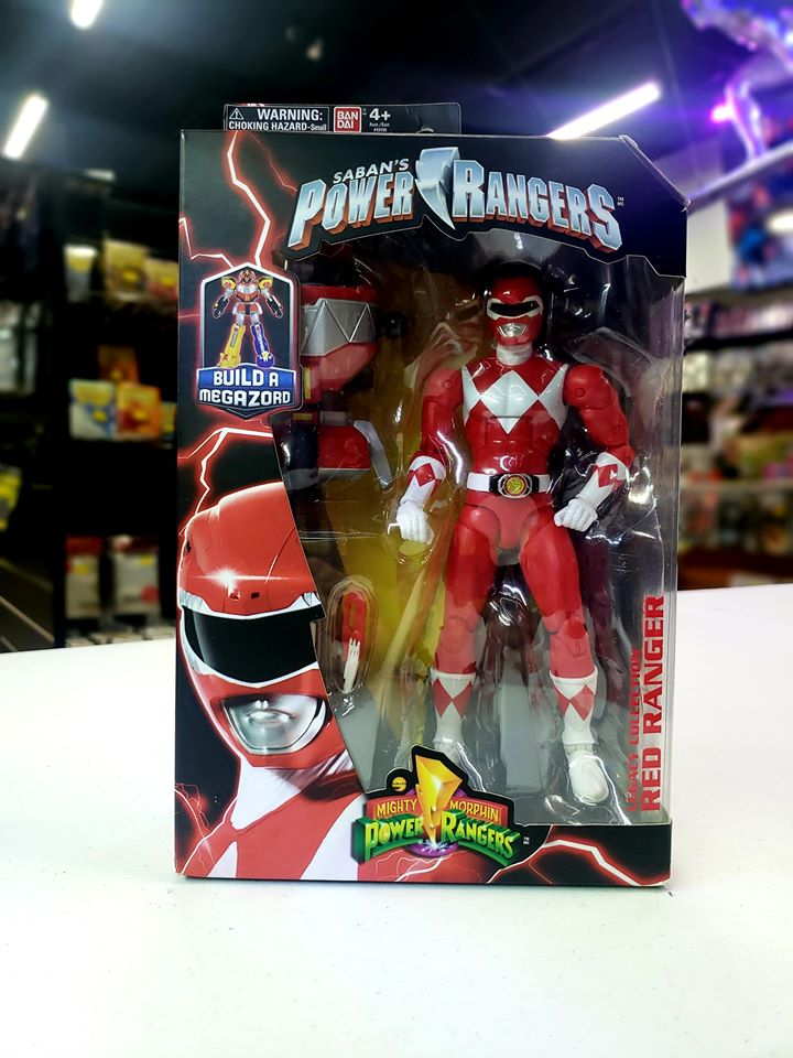 Power Rangers Legacy ‑ 6.5-Inch Mighty Morphin Red Ranger Legacy Figure