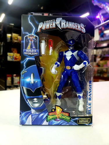 Mighty Morphin Power Rangers 6.5-Inch Blue Ranger Legacy Figure