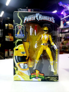 "Power Rangers Legacy ‑ Mighty Morphin Ranger Legacy Figure, 6.5"", Yellow"