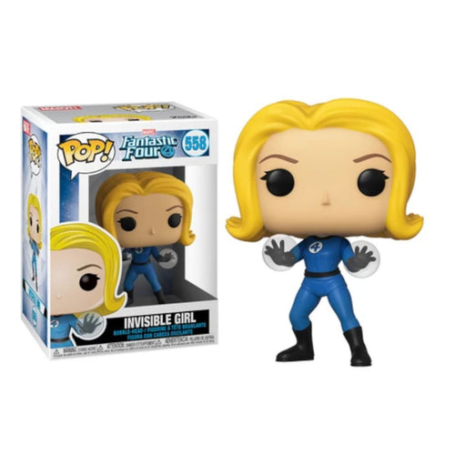 Funko Pop! Invisible Girl