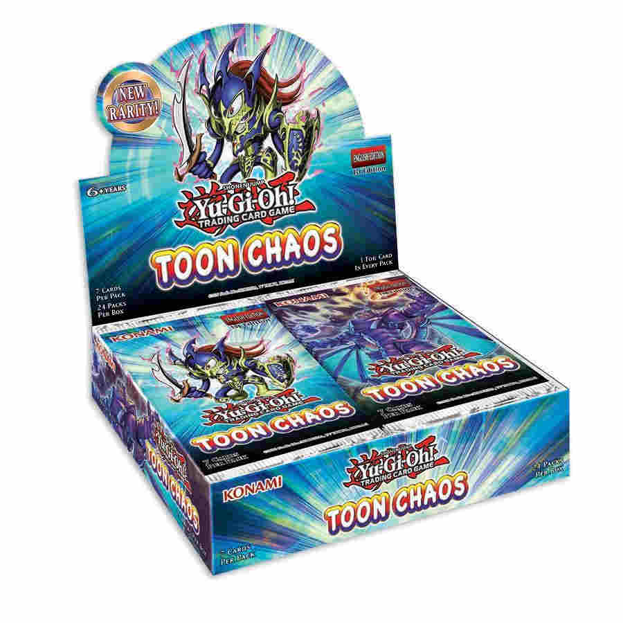 YU-GI-OH CCG: BOOSTER BOX: TOON CHAOS - PRESALE - 6/19/2020