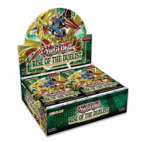 YU-GI-OH CCG: BOOSTER BOX: RISE OF THE DUELIST - PREORDER - 8/07/2020