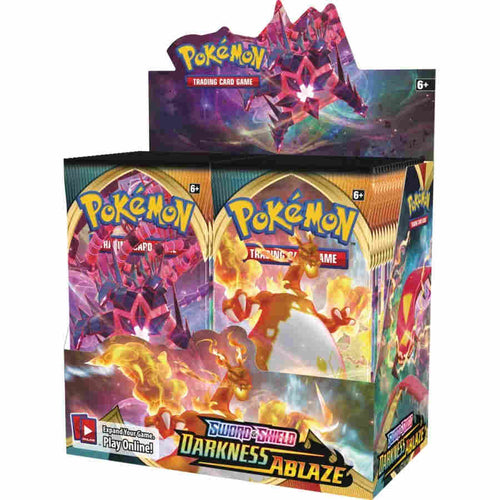 POKEMON TCG: SWORD AND SHIELD DARKNESS ABLAZE BOOSTER DISPLAY