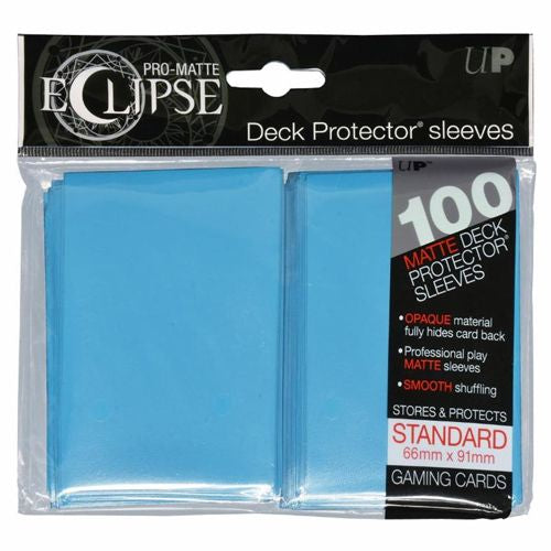ULTRA PRO: ECLIPSE DECK PROTECTOR - SKY BLUE STANDARD 100CT