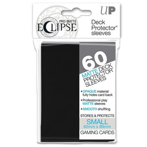 ULTRA PRO: ECLIPSE DECK PROTECTOR - BLACK SMALL 60CT