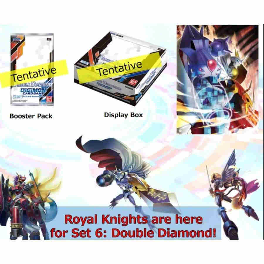 DIGIMON CARD GAME: DOUBLE DIAMOND [BT06] (24CT) - PRESALE - 10/08/21