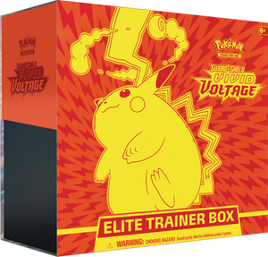 POKEMON TCG: SWORD AND SHIELD VIVID VOLTAGE ELITE TRAINER BOX - PRESALE - 11/13/2020