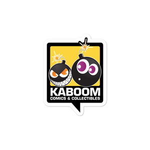 Kaboom Logo sticker