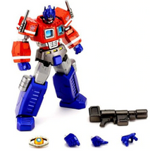 Load image into Gallery viewer, Transformers Japanese Revoltech Cybertech Commander Convoy Action Figure #019 [Optimus Prime]