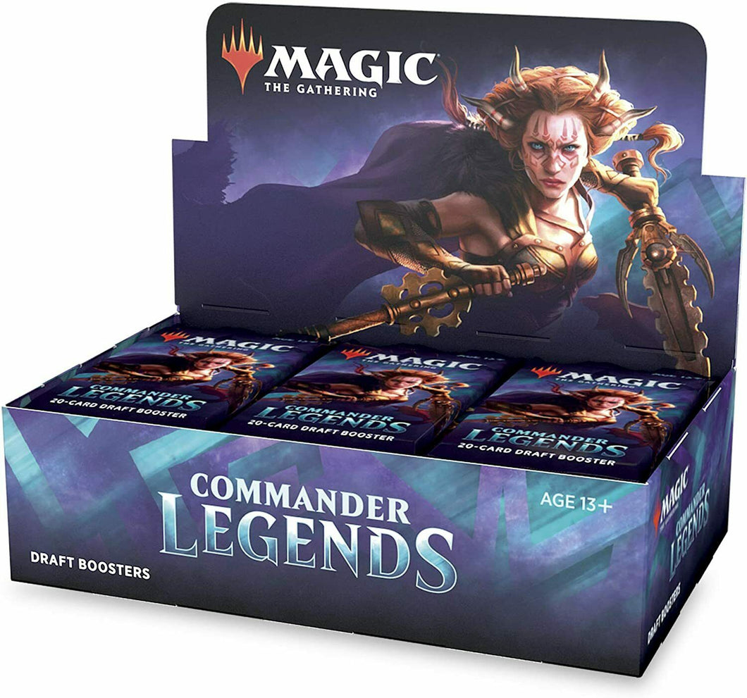MAGIC THE GATHERING: COMMANDER LEGENDS: DRAFT BOOSTER - PRESALE - 11/20/2020