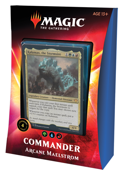Magic the Gathering: Commander 2020 - Ikoria - Arcane Maelstrom (PRESALE)