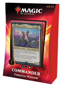 Magic the Gathering: Commander 2020 - Ikoria - Timeless Wisdom (PRESALE)