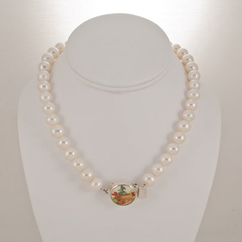 Satsuma Necklace Single Strand 100