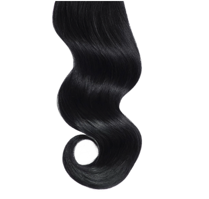 #1 Black Monofilament Base Hair Topper