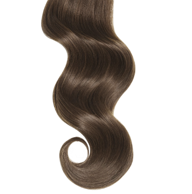 #3 Chocolate Brown Human Hair Clip In Extensions