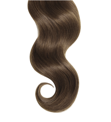 #4 Medium Brown Human Hair Straight I Tip Extensions