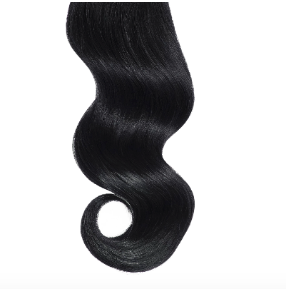#1 Black Silk Base Hair Toppers