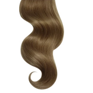 #8 Chestnut Brown Human Hair Clip In Extensions