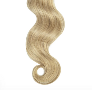 Natural Curly #14 Oat Blonde Human Hair Extensions