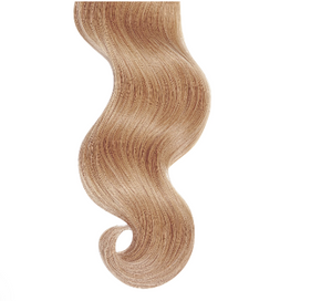 #Strawberry Blonde Straight Human Hair I Tip Extensions