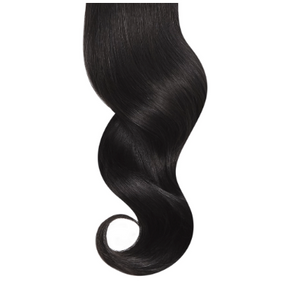 Tight Curls #1b Natural Black Human Hair Extensions