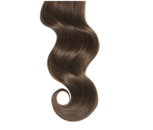 Tight Curls #4 Medium Brown Human Hair Extensions