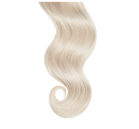 Tight Curls #60 Platinum Blonde Human Hair Extensions