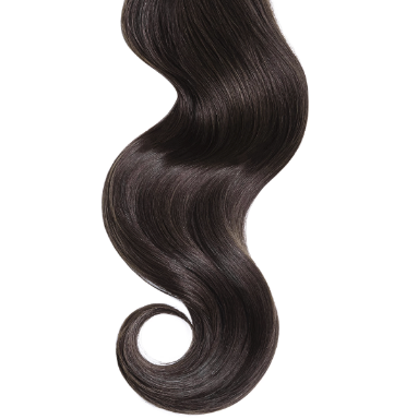 #2 Dark Brown Human Hair Hand Tied Weft