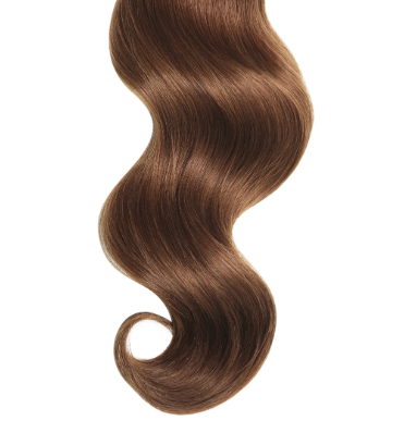 Natural Curly #32 Auburn Human Hair Extensions