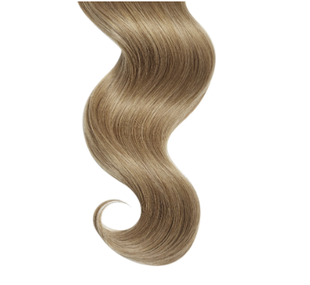 Natural Curly #12 Dirty Blonde Human Hair Extensions