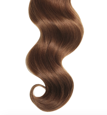 #33 Auburn Straight Human Hair I Tip Extensions