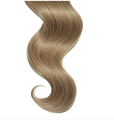 #12 Dirty Blonde Straight Human Hair I Tip Extensions