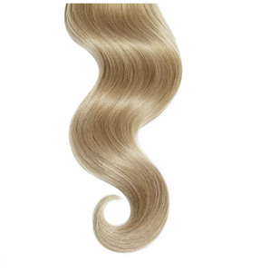#16 Sun Kissed Honey Blonde Straight Human Hair Tape In Extensions